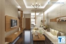Thiết kế nội thất căn hộ chung cư 1611-CT1 Tràng An Complex - nhà anh Quang