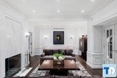 Thiết kế chung cư Vinhomes Gardenia Mỹ Đình tân cổ điển - nhà chị Hoa