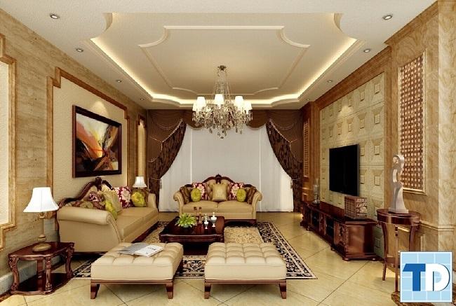 Thiết  kế chung cư Vinhomes Metropolis tân cổ điển - nhà anh Hoàng