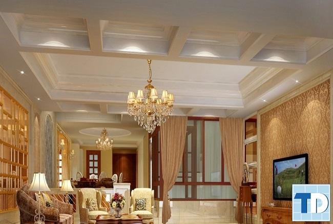 Thiết kế nội thất chung cư Gamuda Gardens tân cổ điển - nhà anh Long