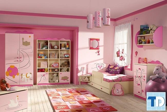 Phòng ngủ con gái nhỏ