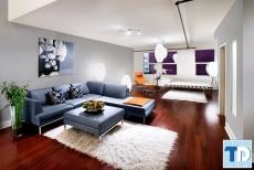 Thiết kế nội thất chung cư Hateco Hoàng Mai cá tính mạnh mẽ - nhà chị Hồng