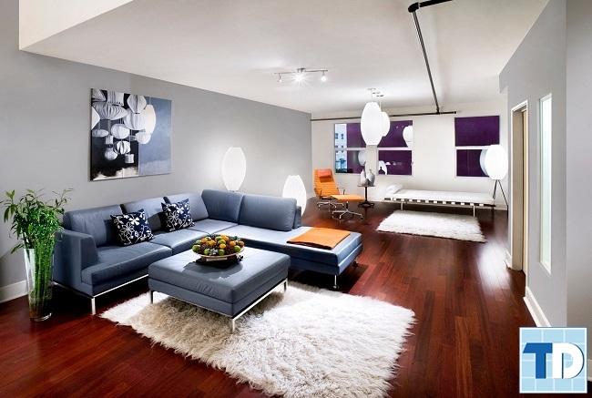 Thiết kế nội thất căn hộ Hateco hiện đại