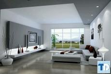 Mẫu thiết kế nội thất căn hộ chung cư Vinhomes Gardenia 100m2 - nhà chị Huế