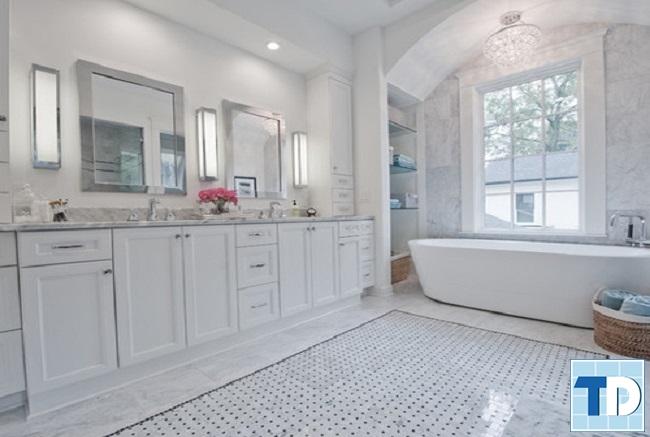 Phòng tắm tân cổ điển cao cấp