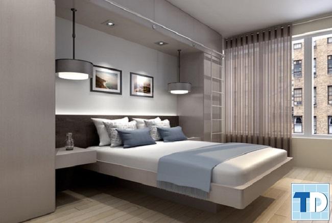 Phòng ngủ master nhẹ nhàng tinh tế