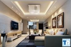 Thiết kế nội thất chung cư Euroland sang trọng cao cấp - nhà chị Hạnh