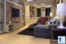 Mẫu thiết kế chung cư Vinhomes Metropolis tân cổ điển - nhà anh Khôi