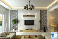 Thiết kế nội thất căn hộ chung cư Rainbow phong cách hiện đại - nhà chị Mai