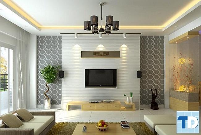 Thiết kế nội thất căn hộ Rainbow hiện đại