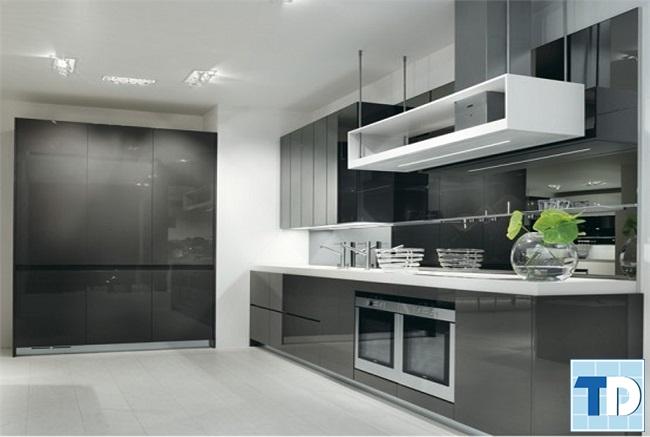 Phòng bếp hiện đại với đầy đủ công năng