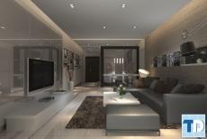 Thiết kế nội thất  chung cư Gold Silk Complex lịch lãm - nhà anh Hùng