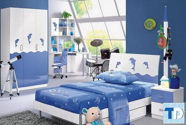 Phòng ngủ con trai nhỏ