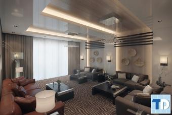 Thiết kế nội thất căn hộ Vinhomes Trần Duy Hưng - D'Capitale - nhà anh Kỳ