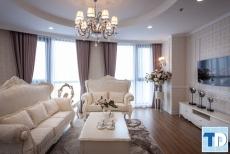Thiết kế nội thất căn hộ Ruby Towers tân cổ điển - nhà chị Phương