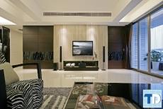 Thiết kế nội thất chung cư Skylight Minh Khai đẹp lôi cuốn - nhà anh Khương