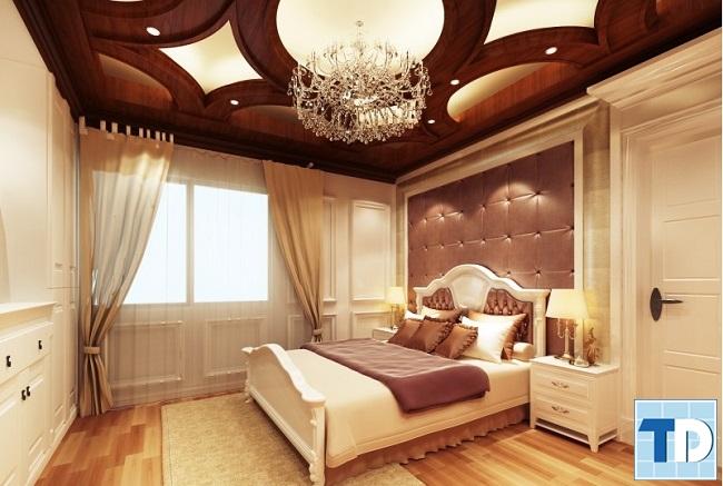 Phòng ngủ con gái tân cổ điển lộng lẫy