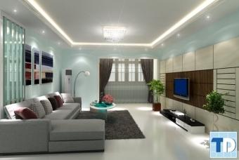 Thiết kế nội thất chung cư Kengnam đẹp thanh lịch - nhà chị Thùy
