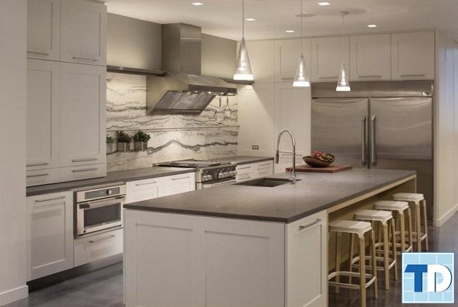 Phòng bếp cho không gian hẹp