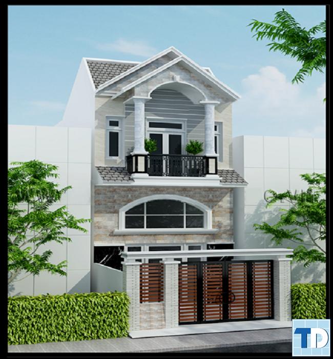 Kiến trúc nhà thoáng mát với cây xanh