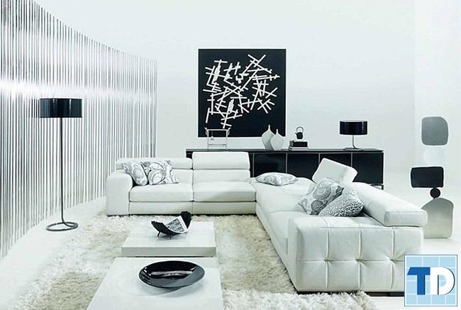 Tone màu trắng giúp không gian rộng hơn