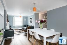 Mẫu thiết kế nội thất chung cư ecopark đẹp sang trọng - nhà chị Huyền