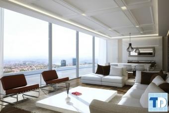 Thiết kế nội thất chung cư Nguyễn Huy Tưởng nhẹ nhàng đơn giản - nhà anh An