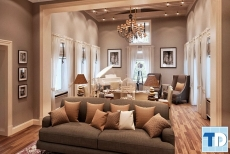 Thiết kế chung cư Park Hill tân cổ điển đẹp quý phái - nhà anh Trọng