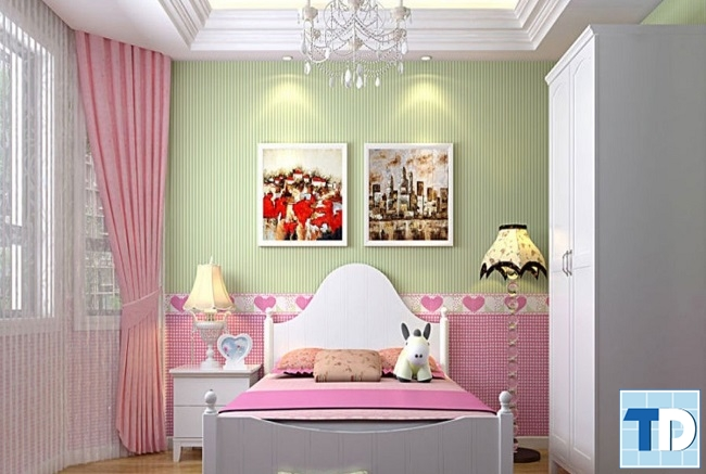 Phòng ngủ cô con gái nhỏ