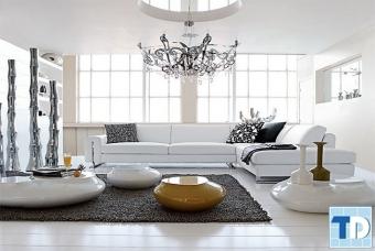 Thiết kế nội thất chung cư 70m2 nhỏ đẹp Gold Silk - nhà chị Dung