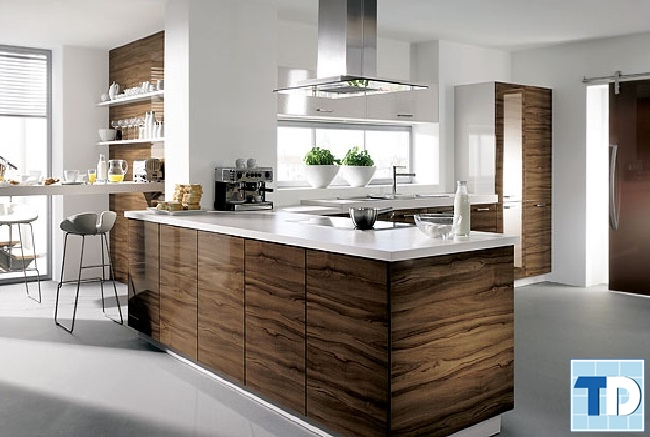 Phòng bếp tiện nghi