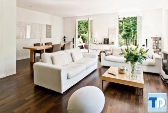 Thiết kế nội thất chung cư Hồ Gươm Plaza sang trọng - nhà anh Tài