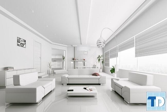 Không gian nhà đẹp hiện đại