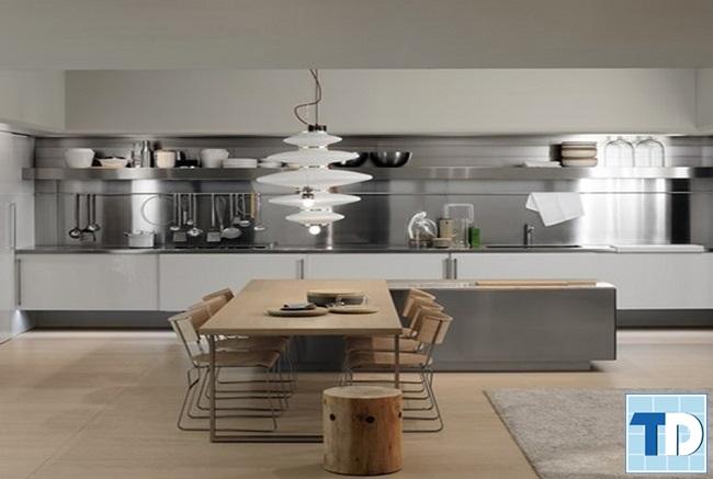 Mẫu phòng bếp độc đáo ấn tượng