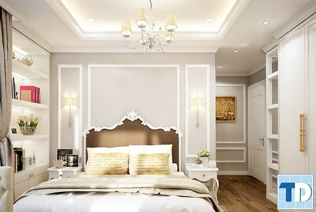 Phòng ngủ con gái lớn đẹp nữ tính