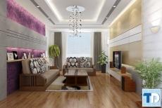 Thiết kế nội thất nhà chung cư đẹp Royal City - nhà anh Hiếu