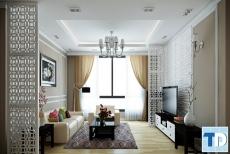 Thiết kế nội thất chung cư Kengnam ấn tượng - nhà cô Dung