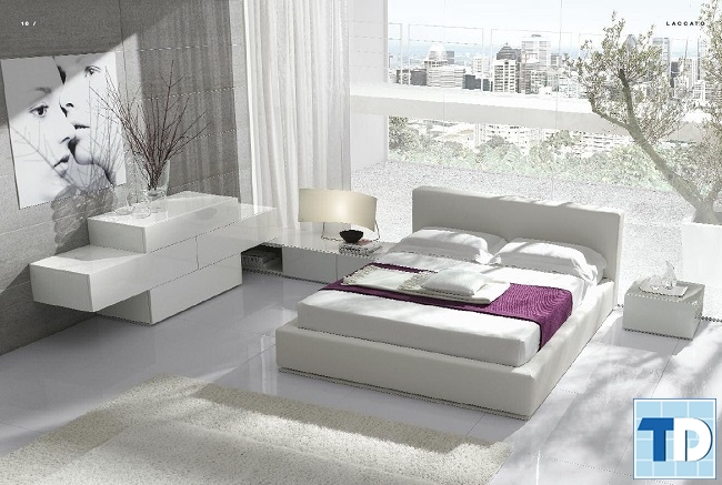 Phòng ngủ master thanh lịch