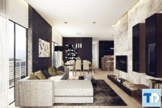 Mẫu thiết kế nội thất chung cư Hà Đô ấn tượng độc đáo - nhà chú Long