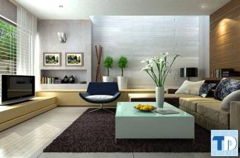 Thiết kế nội thất căn hộ chung cư Hateco Hoàng Mai trang nhã - nhà chị Hạnh