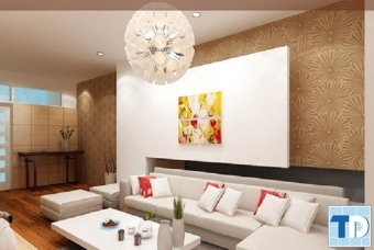 Thiết kế nội thất chung cư Vinhomes Sky Lake sang trọng - nhà anh Thủy