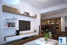 Thiết kế nội thất căn hộ Vinhomes Gardenia Mỹ Đình- nhà anh Mỹ