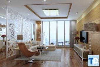 Thiết kế nội thất căn hộ Eco Green City phong cách hiện đại - nhà chị Xuyến