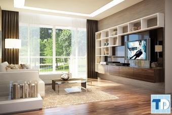 Thiết kế nội thất chung cư Euroland đẳng cấp - nhà chị Mai Anh