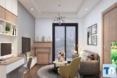 Thiết kế nội thất chung cư Hồ Gươm Plaza đẹp tiện nghi - nhà cô Vinh