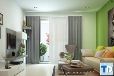 Thiết kế nội thất chung cư Times City 90m2 - nhà chị Nhàn