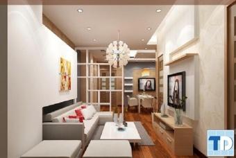 Thiết kế nội thất chung cư Royal City cao cấp tiện nghi - chị Hoa