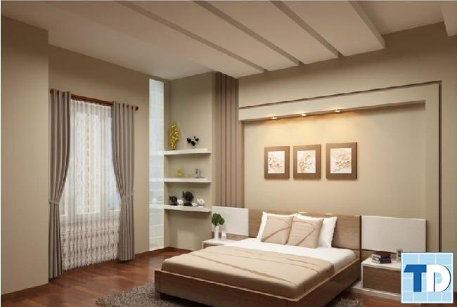 Phòng ngủ con trai hiện đại với đường nét tối giản
