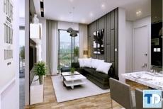 Thiết kế nội thất căn hộ Vinhomes Liễu Giai đẹp sáng tạo - nhà anh Vượng