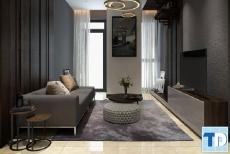 Thiết kế nội thất căn hộ Vinhomes Risever tiện nghi lý tưởng - nhà chị Vân